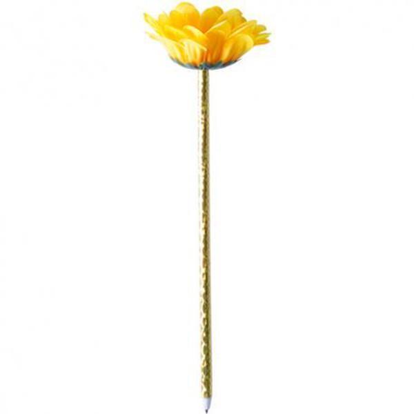 Bolígrafo para regalar Flor amarillo