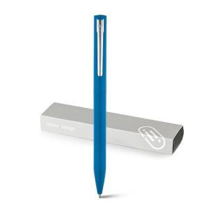 Boligrafo personalizado premium Wasp azul