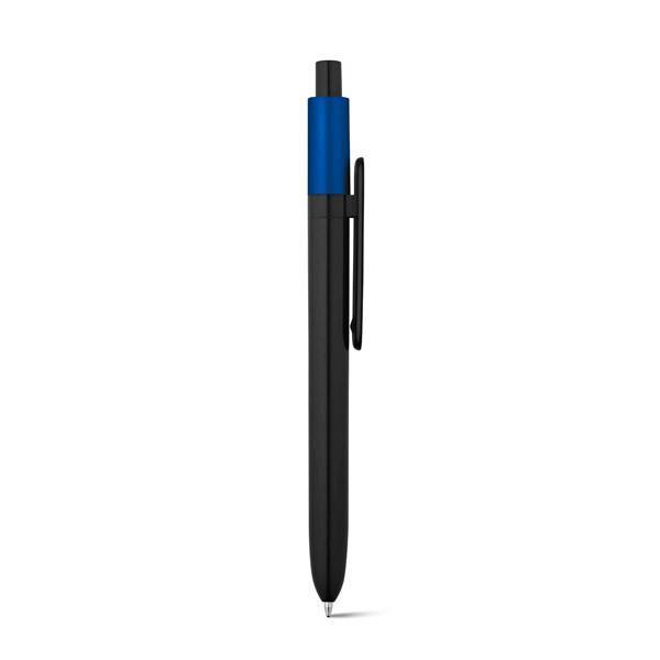 Bolígrafo promocional Wuki Metalic Azul Oscuro