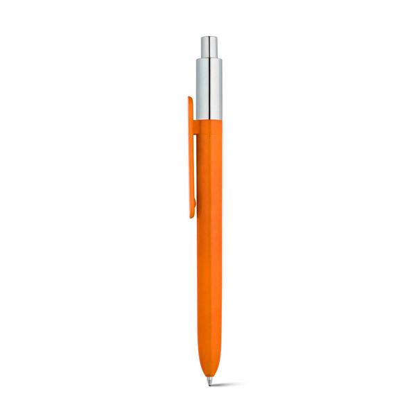 Bolígrafo promocional Wuki Metalic Naranja