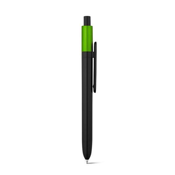 Bolígrafo promocional Wuki Verde
